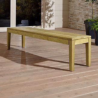 Regatta Natural Dining Bench
