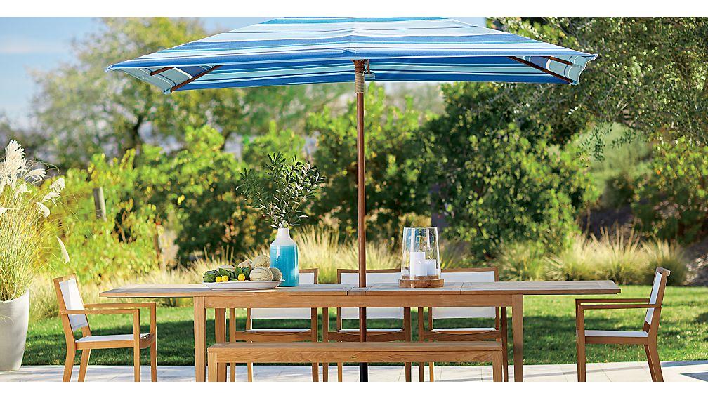 Regatta Dining Bench with Sunbrella ® Cushion