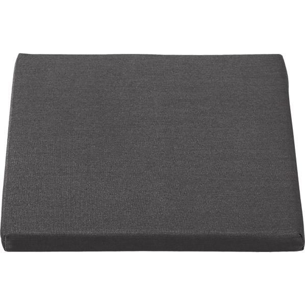 Regatta Sunbrella ® Charcoal Dining Chair Cushion