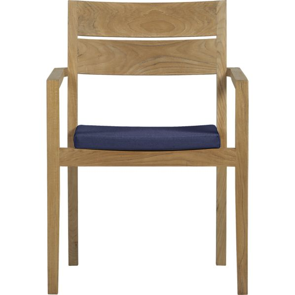 Regatta Dining Chair with Sunbrella ® Indigo Cushion