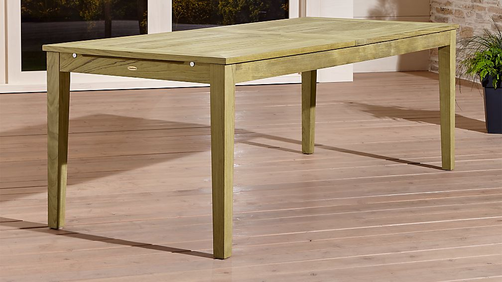 Regatta Natural Extension Dining Table - Image 1 of 13