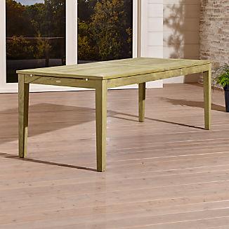 Regatta Natural Extension Dining Table