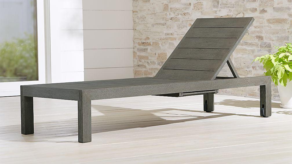 Regatta Grey Wash Chaise Lounge - Image 1 of 7