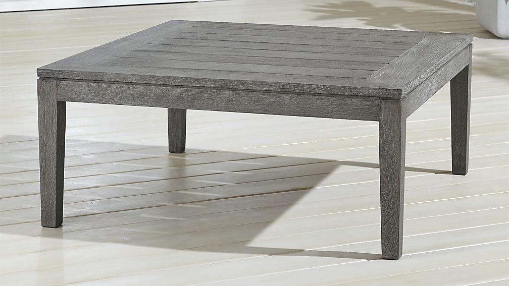 Regatta Grey Wash Coffee Table - Image 1 of 4