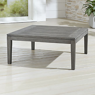 Teak Coffee Tables Crate And Barrel