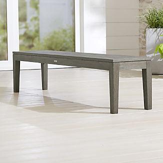 Regatta Grey Wash Dining Bench