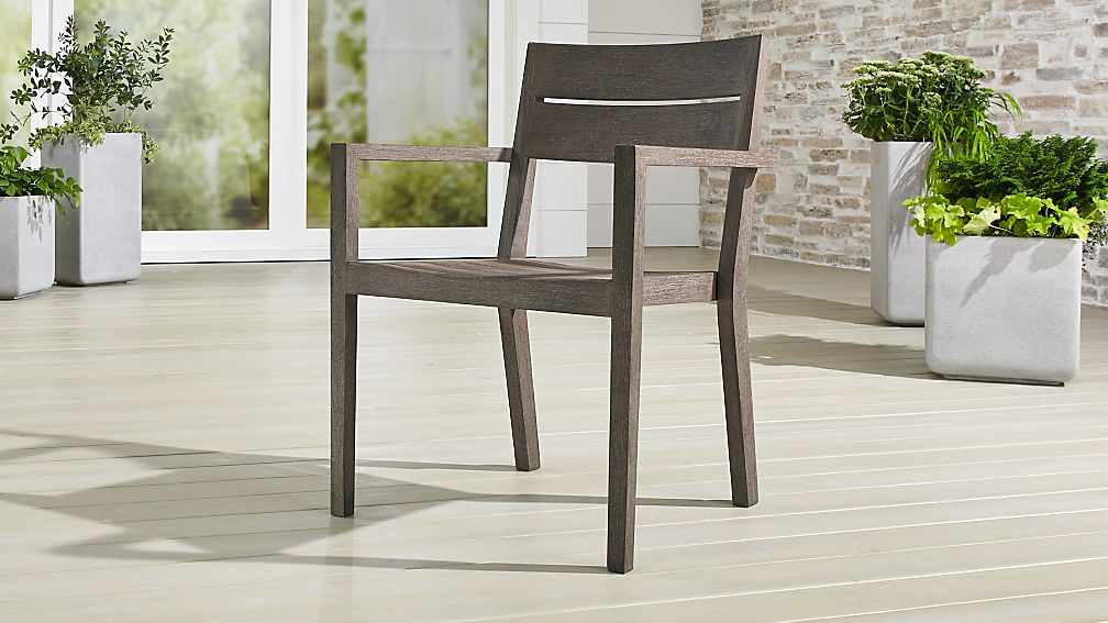 Regatta grey wash dining chair reviews crate and barrel