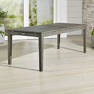 Merveilleux Regatta Grey Wash Extension Dining Table