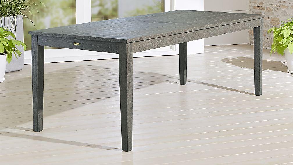 Regatta Grey Wash Rectangular Dining Table - Image 1 of 7