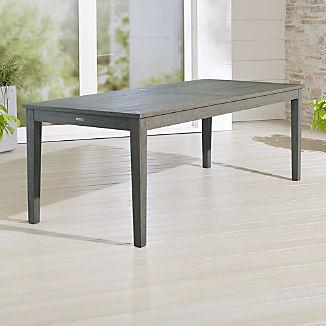 Regatta Grey Wash Rectangular Dining Table