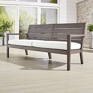 Wood Outdoor Furniture | Crate and Barrel