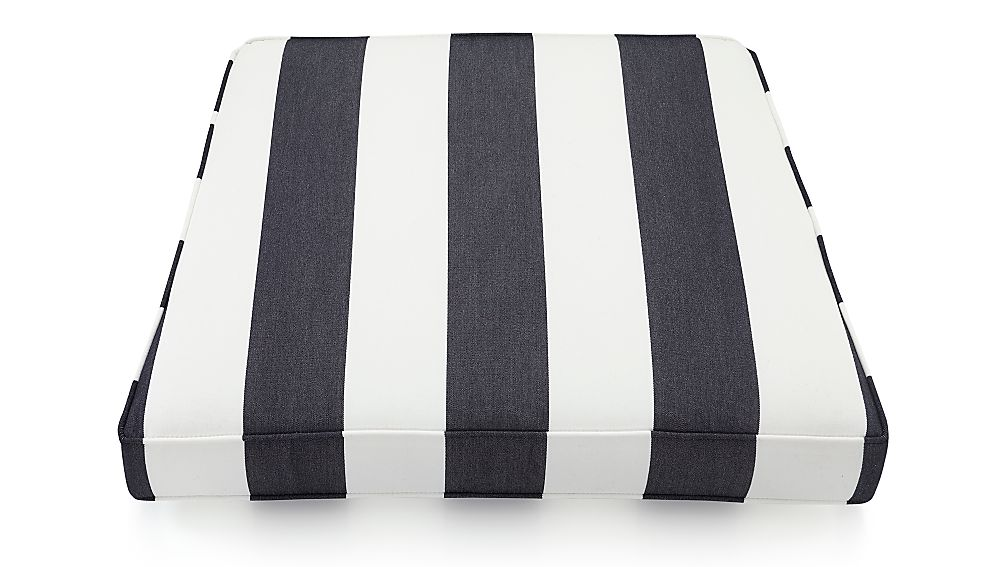 Regatta Striped Outdoor Chair Cushion Reviews Crate And Barrel