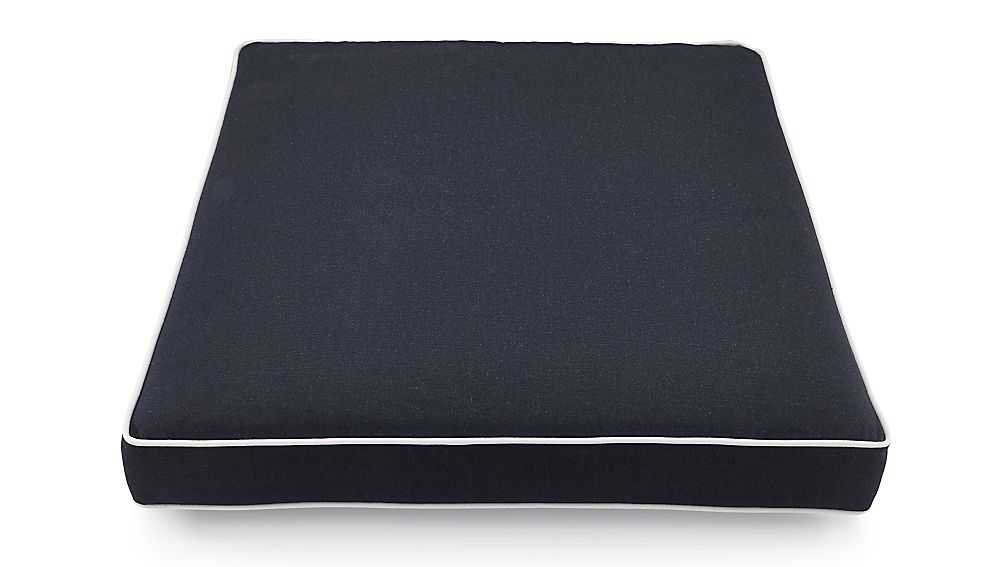 Regatta Navy Outdoor Chair Cushion Reviews Crate And Barrel
