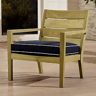 Save on Wood Outdoor Furniture Crate and Barrel