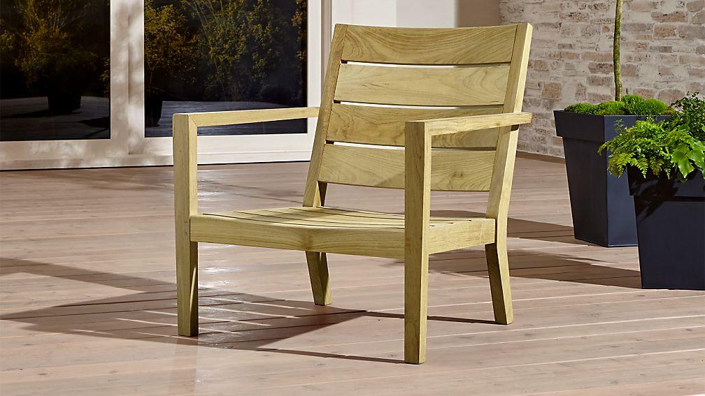 Regatta Natural Lounge Chair - Image 1 of 4