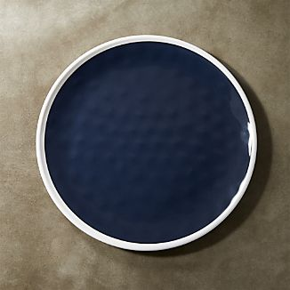 Regatta Blue Melamine Dinner Plate
