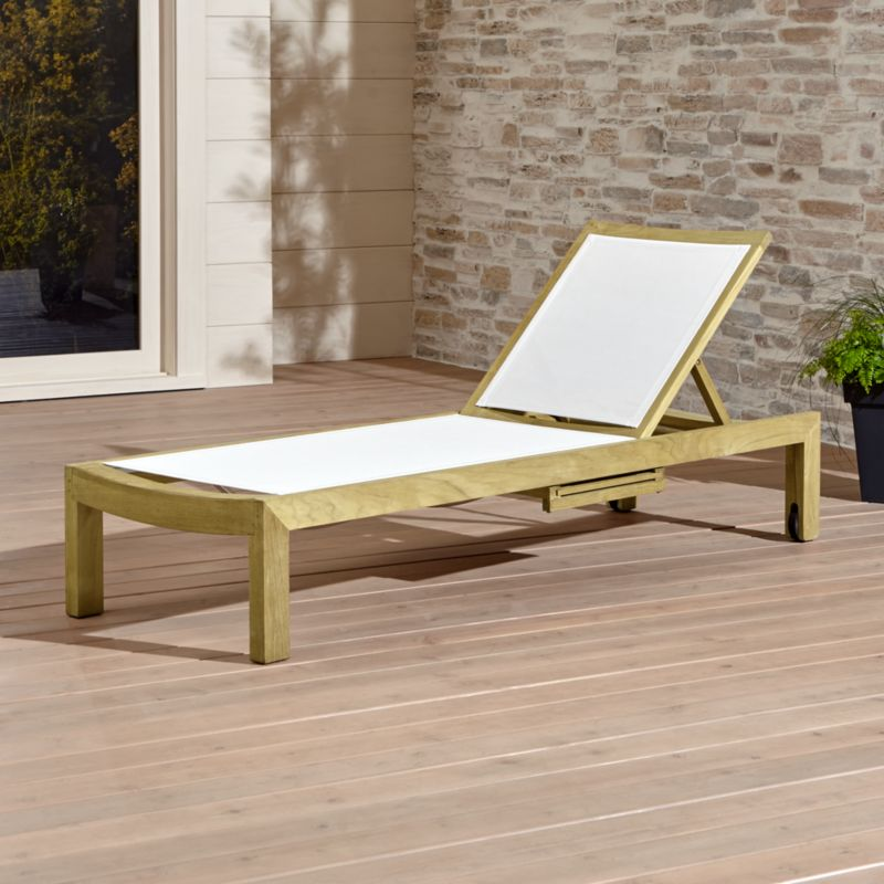 Regatta Natural Mesh Chaise Lounge