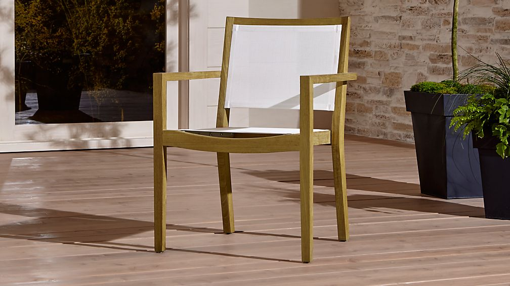 Regatta Natural Mesh Dining Chair - Image 1 of 12
