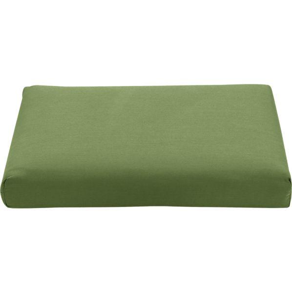 Regatta Sunbrella ® Cilantro Modular Armless Chair/Ottoman Cushion