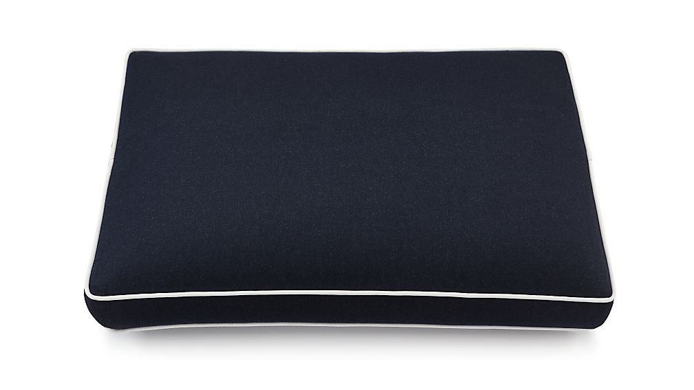 Regatta Navy Sunbrella ® Ottoman Cushion - Image 1 of 2