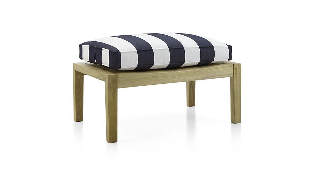 Regatta Ottoman with Sunbrella ® Cushion