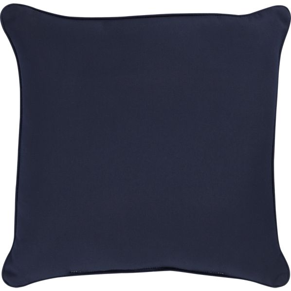 "Sunbrella ® Indigo 20"" Sq. Outdoor Pillow"