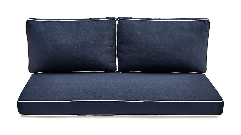 Regatta Sunbrella ® Right Arm Loveseat Cushions - Image 1 of 3