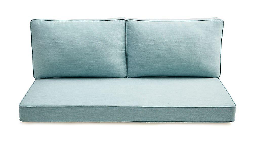 Regatta Sunbrella ® Left Arm Loveseat Cushions - Image 1 of 3