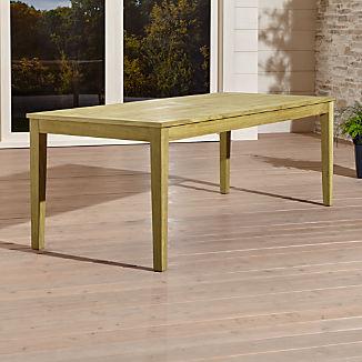 Regatta Natural Rectangular Dining Table