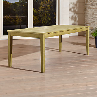 Regatta Natural Rectangular Dining Table