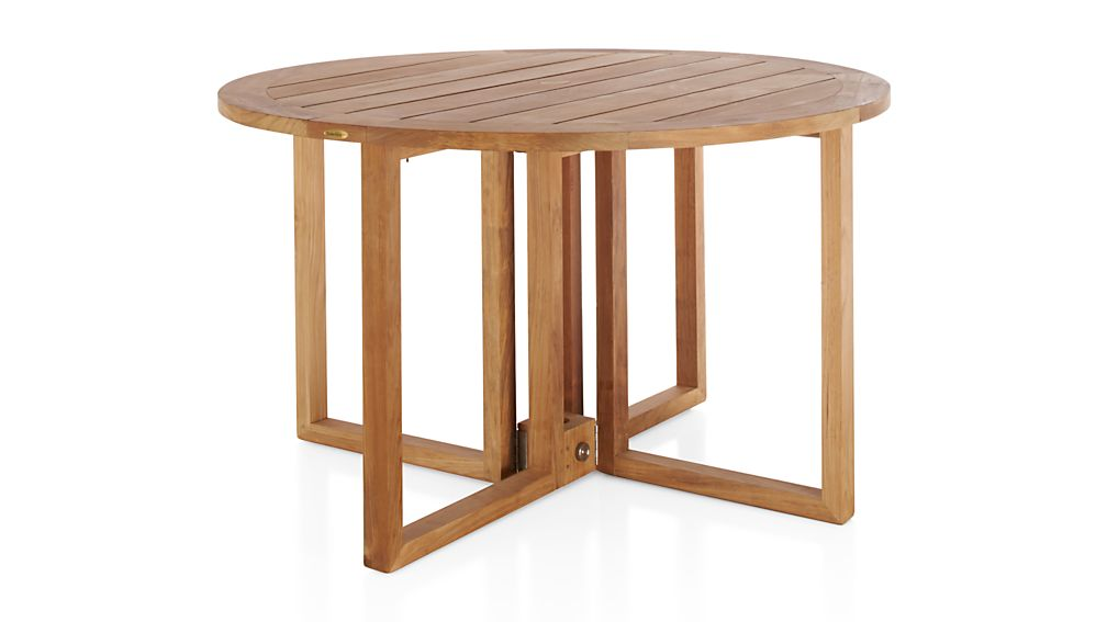 ... Regatta Round Drop Leaf Table ...