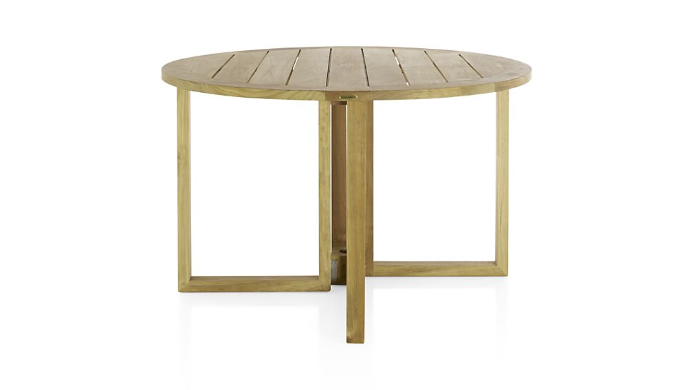 crate barrel outdoor furniture. regatta round dropleaf table crate barrel outdoor furniture