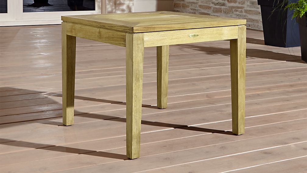 Regatta Natural Stacking Side Table - Image 1 of 6
