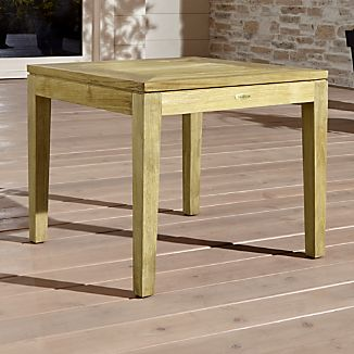 Beau Regatta Natural Stacking Side Table