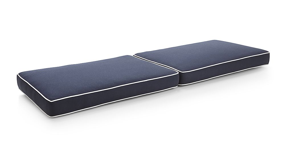 Regatta Navy Sunbrella ® Sofa Cushions - Image 1 of 2