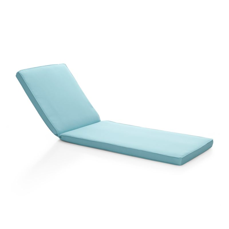 Regatta Sunbrella Blue Chaise Lounge Cushion + Reviews