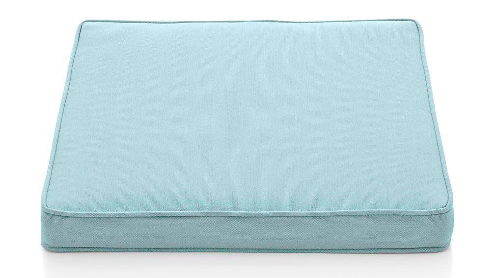 Regatta Soft Mineral Sunbrella ® Dining Chair Cushion - Image 1 of 3