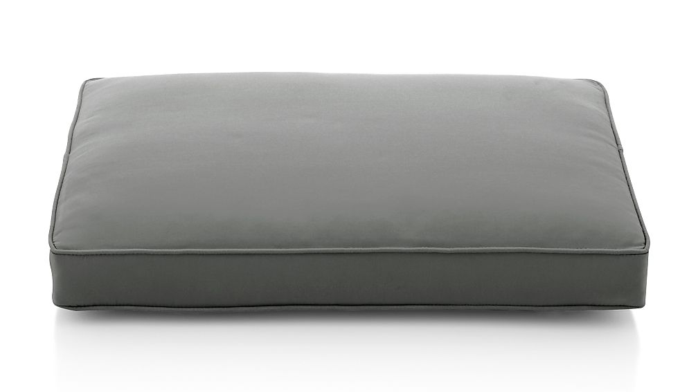 Regatta Graphite Sunbrella ® Ottoman Cushion - Image 1 of 3