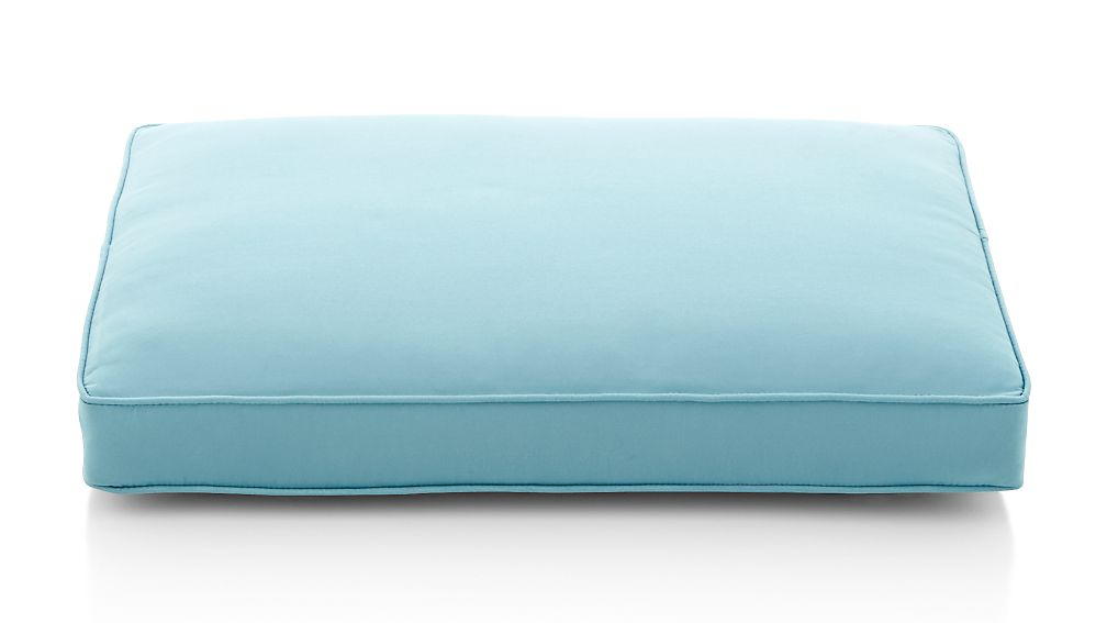 Regatta Soft Mineral Sunbrella ® Ottoman Cushion - Image 1 of 3