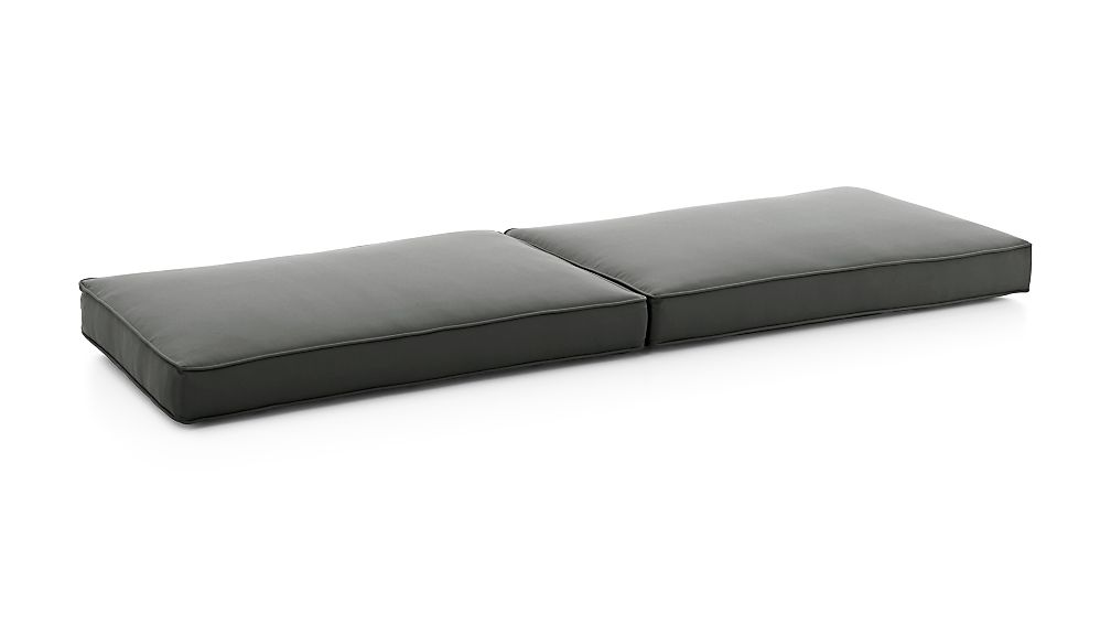 Regatta Graphite Sunbrella ® Sofa Cushions - Image 1 of 3