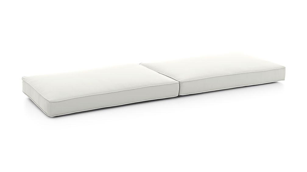 Regatta White Sand Sunbrella ® Sofa Cushions - Image 1 of 2
