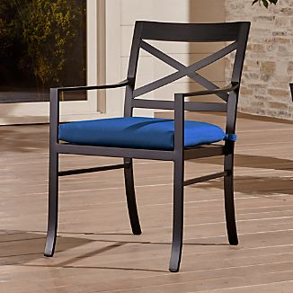 regent dining chair with sunbrella cushion