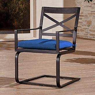 Superbe Regent Spring Chair With Sunbrella ® Cushion