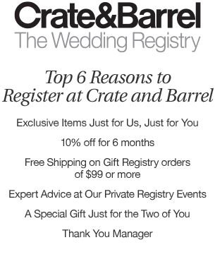 Wedding and Gift Registry