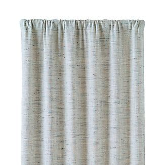 Reid Blue 48x108 Curtain Panel