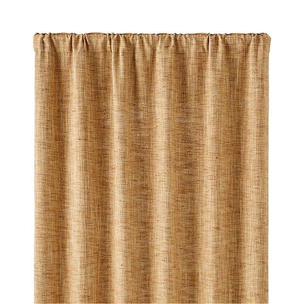 """Reid Butterscotch 48""""x96"""" Curtain Panel"""