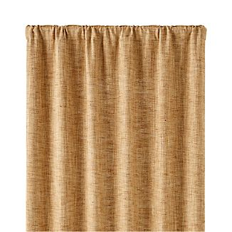 "Reid Butterscotch 48""x96"" Curtain Panel"