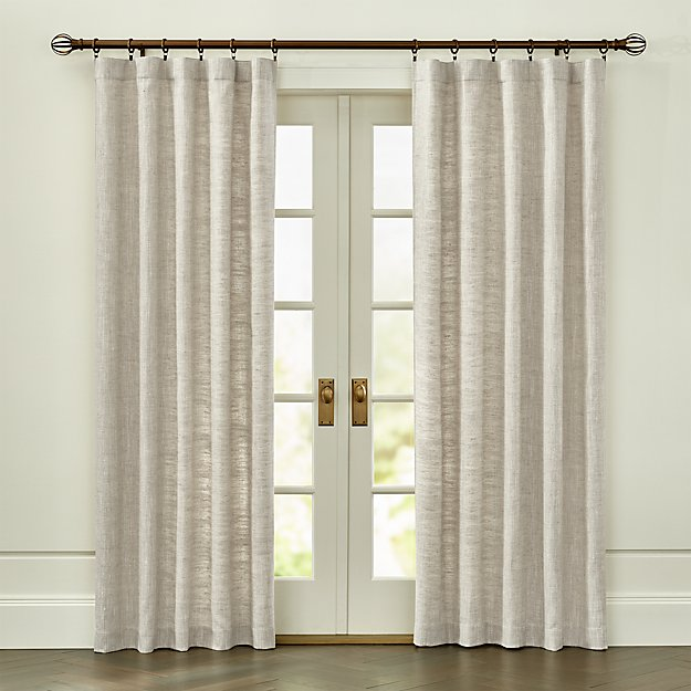 Reid Natural Curtain Panel - Image 1 of 4
