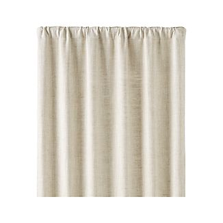 "Reid Natural 48""x96"" Curtain Panel"