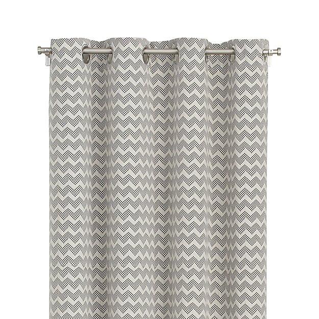 Curtains Ideas chevron curtains grey : Reilly 50